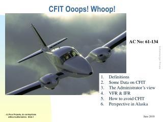 CFIT Ooops Whoop