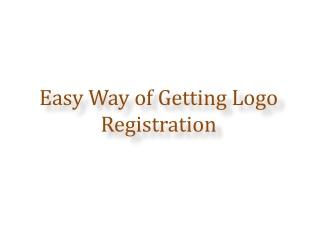 Easy Way of Getting Logo Registration