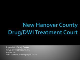 New Hanover County Drug