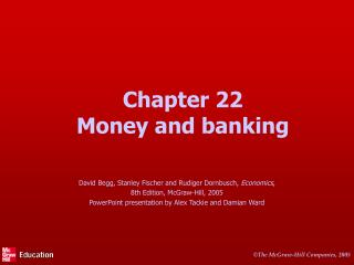 Chapter 22 Money and banking