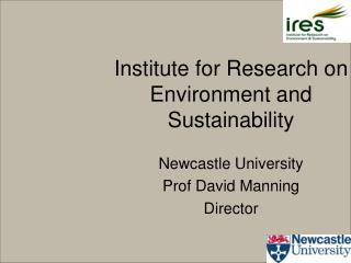 Institute for Research on Environment and Sustainability