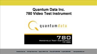 Quantum Data Inc. 780 Video Test Instrument