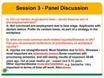 Session 3 - Panel Discussion