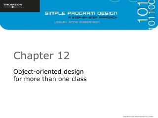 Object-oriented design  for more than one class