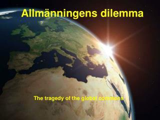 Allm nningens dilemma