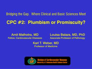 CPC 2:  Plumbism or Promiscuity