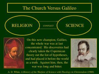 The Church Versus Galileo