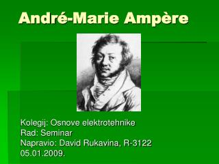 Andr -Marie Amp re