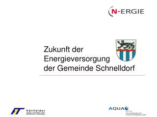Zukunft der Energieversorgung der Gemeinde Schnelldorf