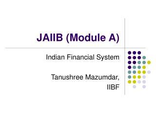 JAIIB Module A