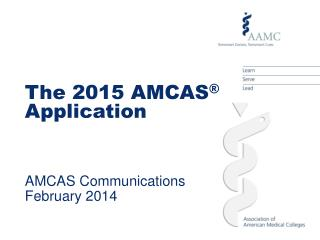 AMCAS Communications March 2012