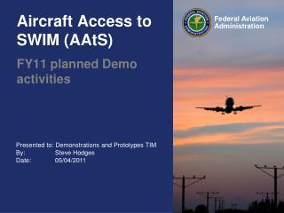 Aircraft Access to SWIM AAtS