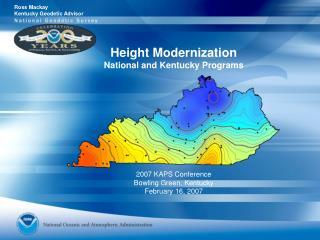 Height Modernization National and Kentucky Programs