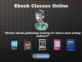 Ebook Classes