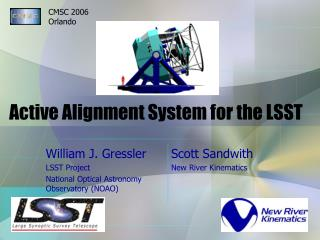 Active Alignment System for the LSST