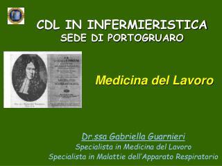 CDL IN INFERMIERISTICA SEDE DI PORTOGRUARO