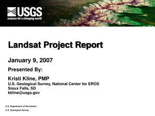 Landsat Project Report