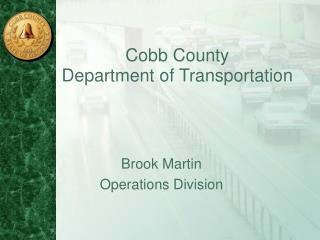 Cobb County  Department of Transportation