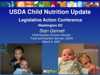 USDA Child Nutrition Update