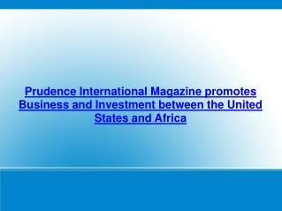 Prudence International Magazine