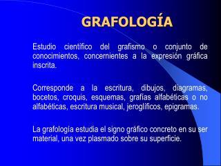 GRAFOLOG A