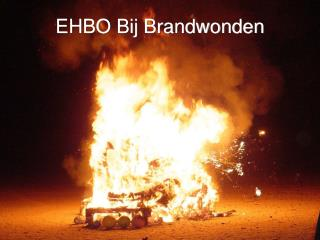 EHBO Bij Brandwonden