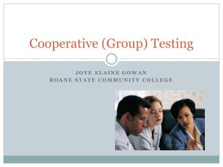 Cooperative Group Testing