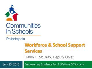 Workforce  School Support Services