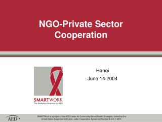 NGO-Private Sector Cooperation