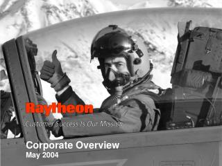 Corporate Overview         May 2004
