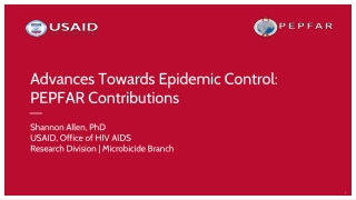 Heightened National Response to the HIV/AIDS Crisis among African ...