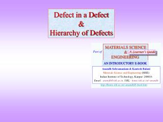 Defect in a Defect  Hierarchy of Defects