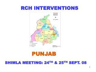 RCH INTERVENTIONS