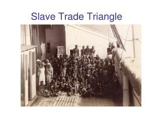 Slave Trade Triangle