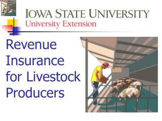 Revenue  Insurance  for Livestock  Producers