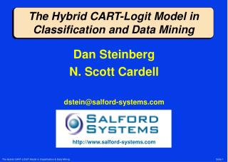 The Hybrid CART-Logit Model in Classification and Data Mining