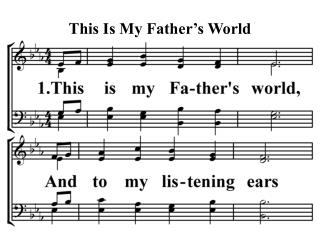 This Is My Father s World