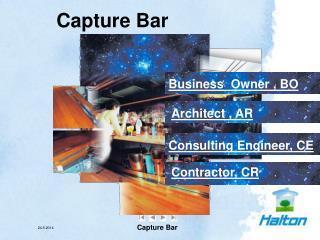 Capture Bar