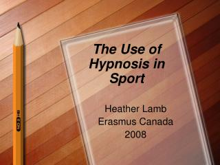 The Use of  Hypnosis in Sport