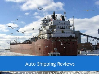 Auto Shipping Reviews|AutoTransportDepot.com