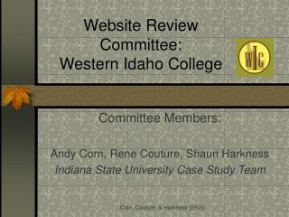 Website Review Committee: Western Idaho College