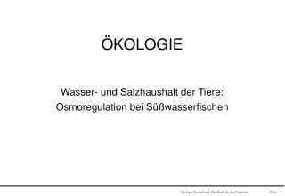 Biologie Gesamtband: Handbuch f r den Unterricht