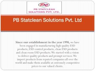 PB Statclean Solutions Pvt. Ltd