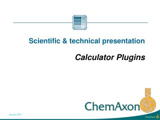 Scientific  technical presentation   Calculator Plugins