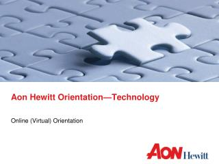 Aon Hewitt Orientation Technology