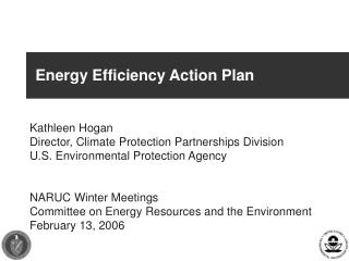 Energy Efficiency Action Plan