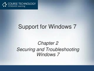 Support for Windows 7