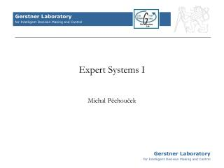 Expert Systems I