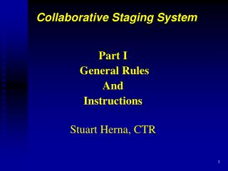 Part I  General Rules And  Instructions  Stuart Herna, CTR