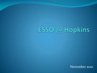 ESSO  Hopkins